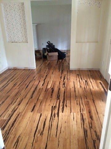 The Living Room Gets A Floor Flooring Bamboo Hardwood Flooring