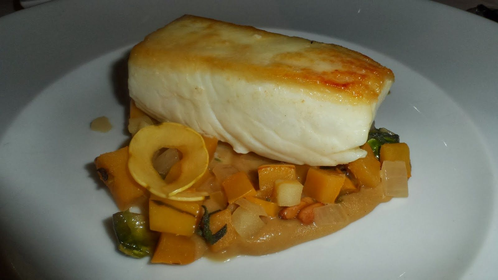 Travel with Teri B. : 2014 BEGINS WITH NEW YORK CITY CELEBRATION  ... Roasted Halibut
