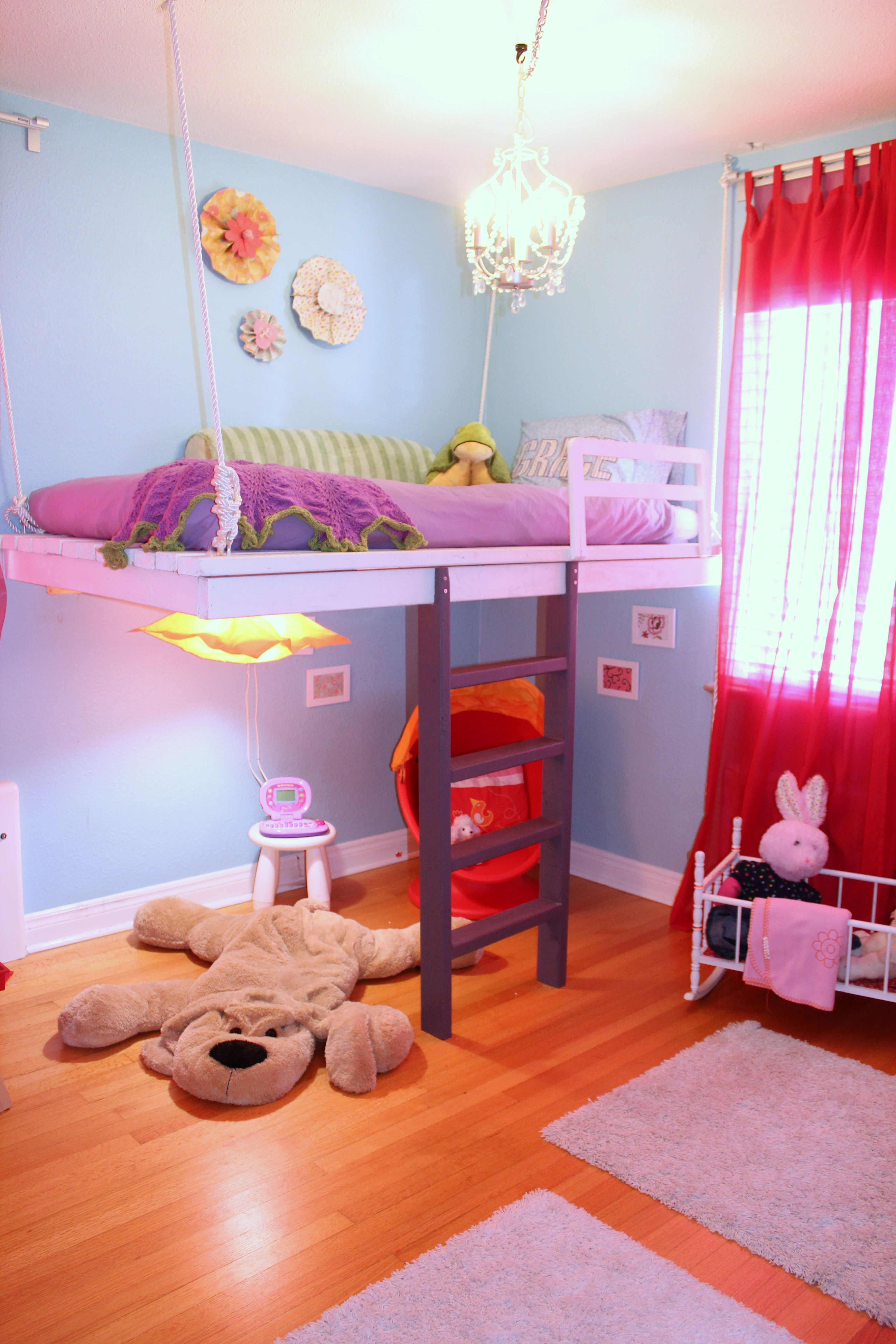 Build a Loft Bed (and win your daughters heart) Do It