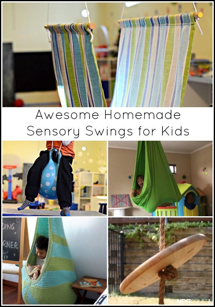 Sensory Integration Room Design: Homemade Sensory Swings For Kids