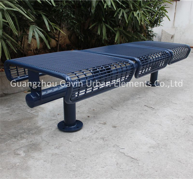 Admirable Welded Wire Mesh Outdoor Backless Park Bench Outdoor Bench Beatyapartments Chair Design Images Beatyapartmentscom