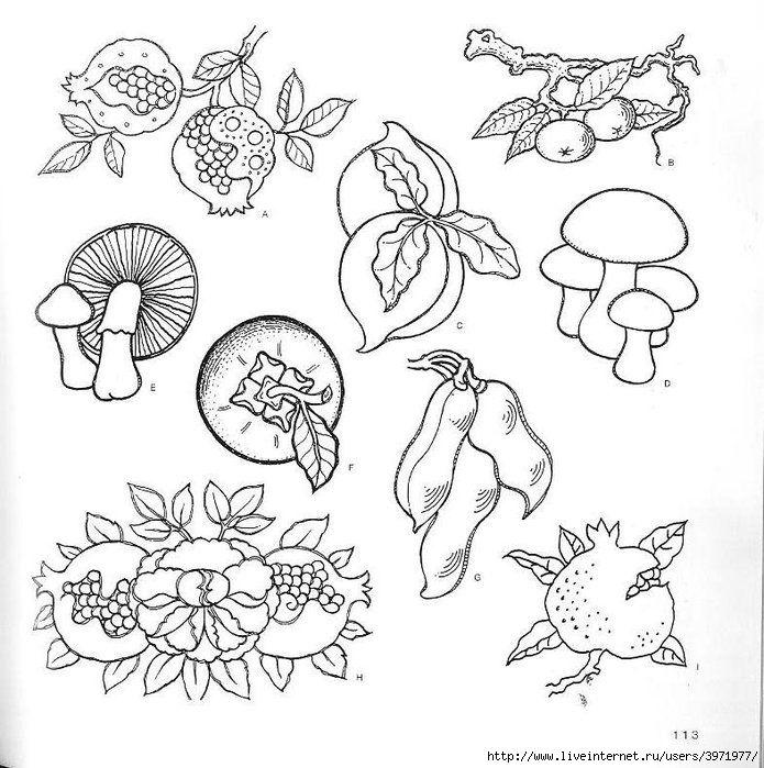 Ornament Yaponiya Illyustracii Iz Knigi G L Makkelem 4000 Motivov Cvety I Rasteniya Konturnye Risunki Illyustracii Mozaichnye Uzory