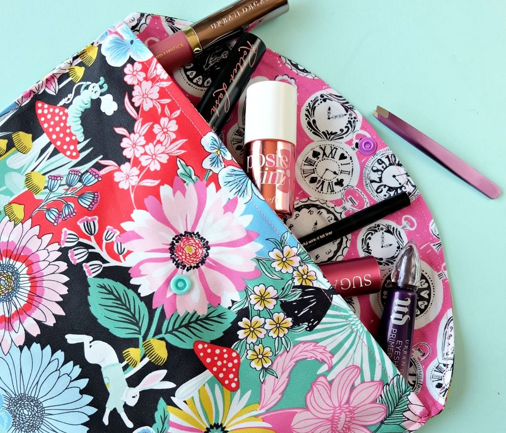 20 Minute Makeup Bag Sewing Tutorial Perfect for Teens