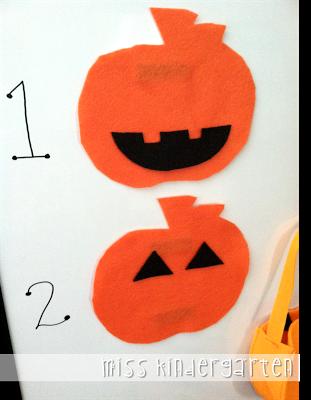 Build a Jack-o-lantern {classroom management idea} - Miss Kindergarten