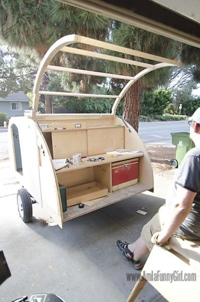 Homebuilt Teardrop Trailer 7: Hatch Construction | Trailers