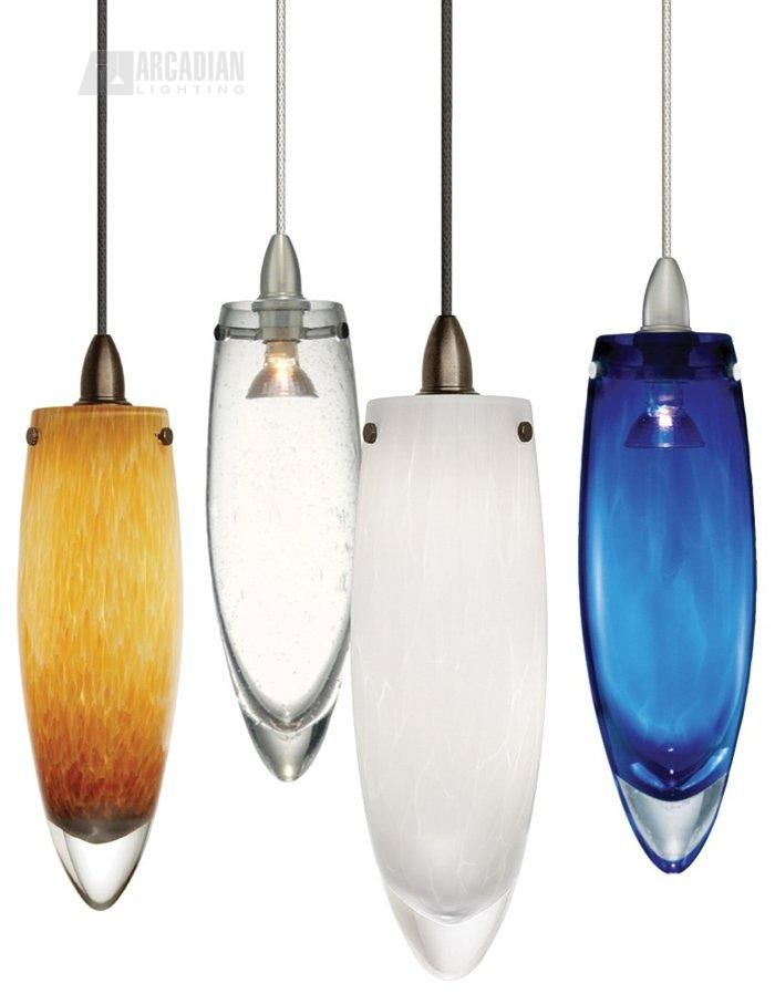Icicle modern contemporary pendant light