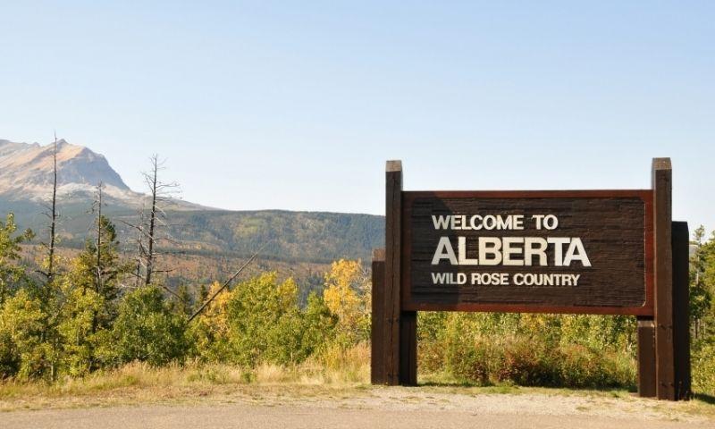 Chief Mountain Montana Alberta Canada Border Waterton National Park Places To Visit Border
