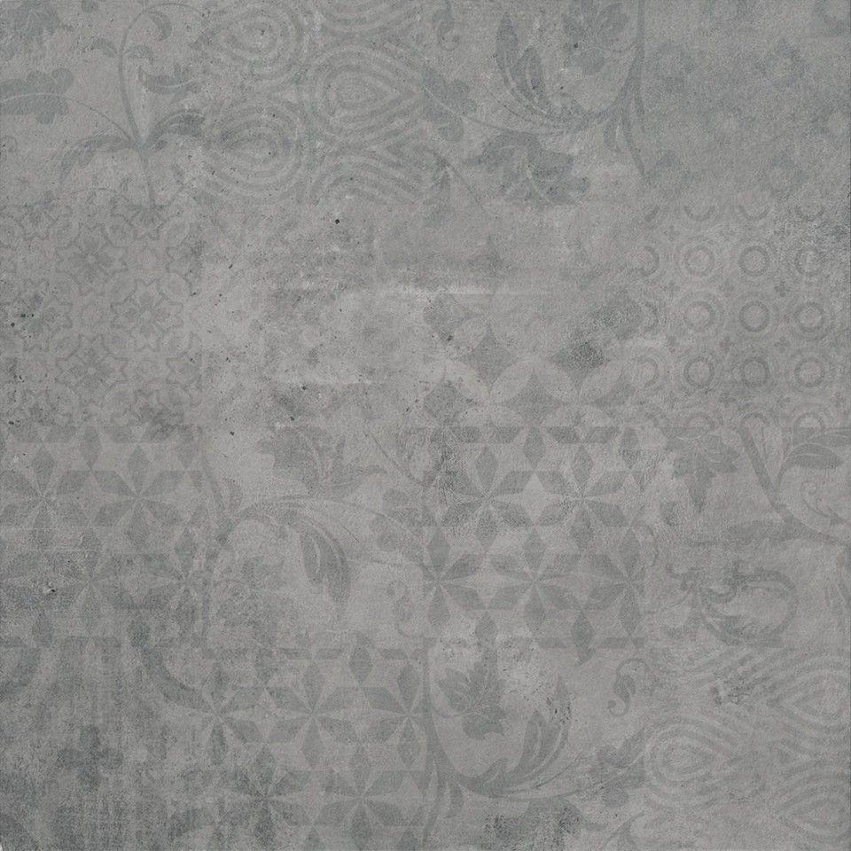 Dekorfliese Betonoptik In Grau 60x60 Cm Mein Fliesenparadies De Dekorfliesen Betonoptik Schoner Wohnen Fliesen