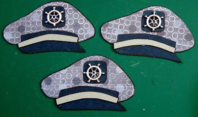 Pam's Paper Piecings: Captain's Hat