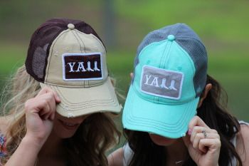 Y'all Hat at The Humble Thread.  Perfect for the lake this summer!