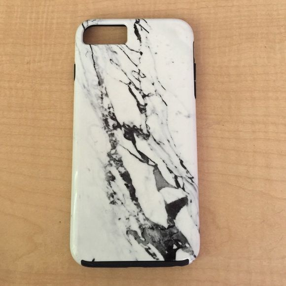iPhone 6 Plus Marble Case Retails for $45. In great condition and provides full protection. Society 6 Accessories Phone Cases