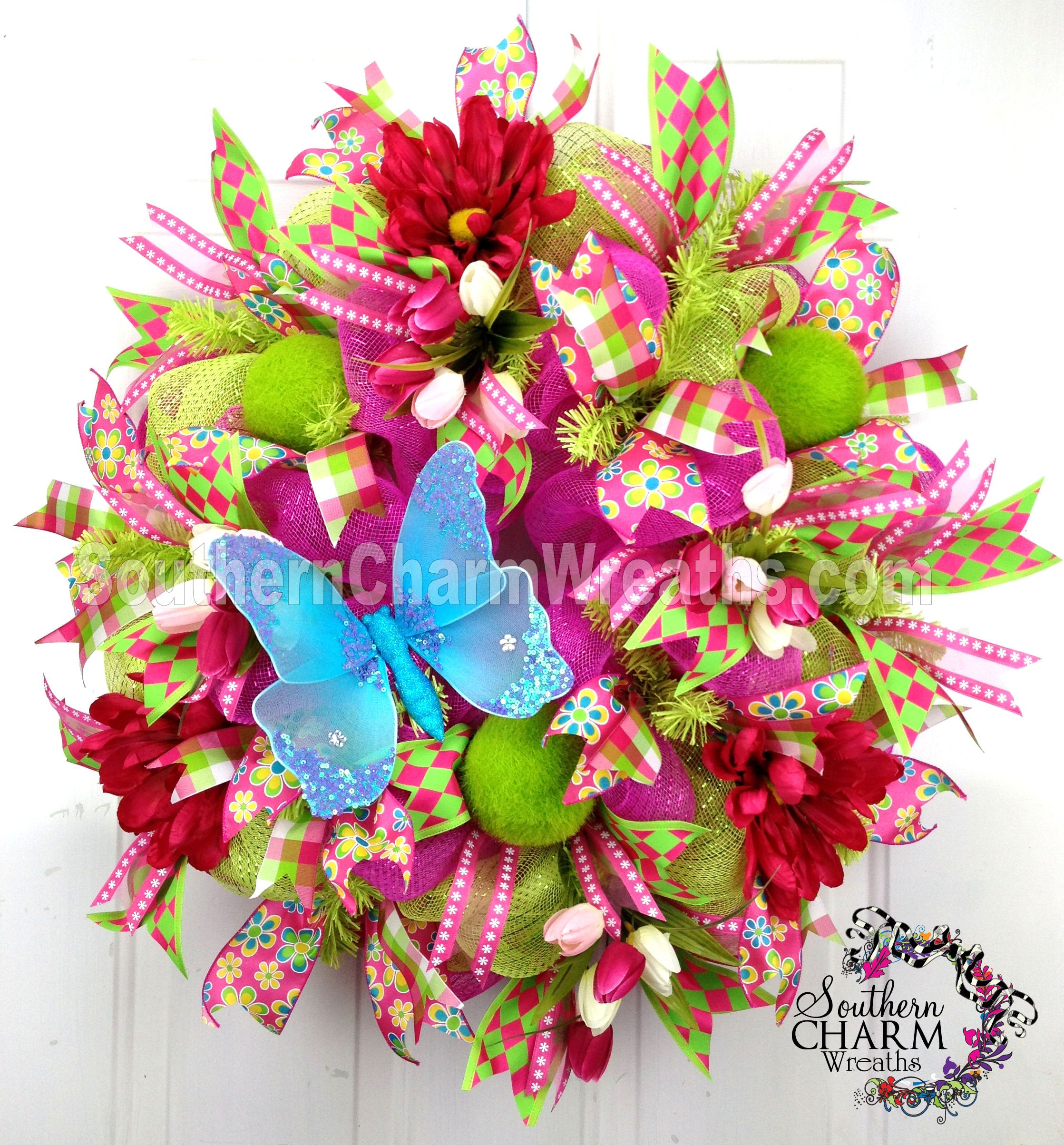 Beautiful Deco Mesh Wreath Ideas You Will Love Wreaths
