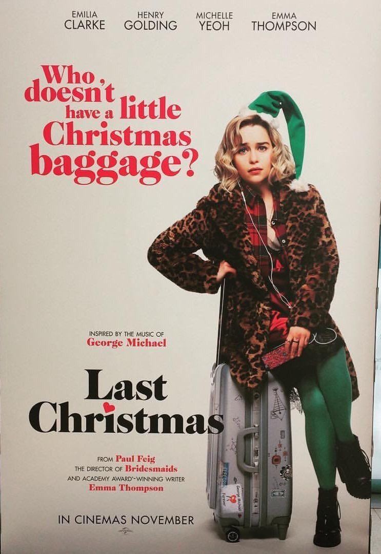 Last Christmas Movie Source — Last Christmas Teaser Poster