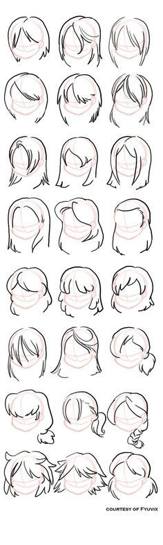 30 Medium Length Hairstyles Visit My Channel For More Other Medium Hairstyle Drawing Tips Drawings Drawing People