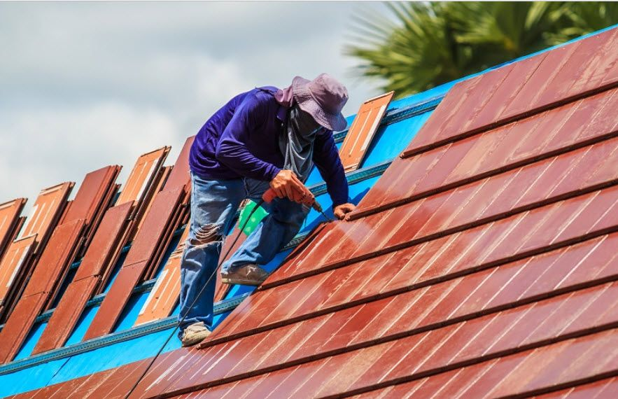 Top View Roofing Services Include Roof Restoration Sydney Wide Along With Roof Painting In Sydney Roof Clea Emergency Roof Repair Roof Restoration Roof Repair