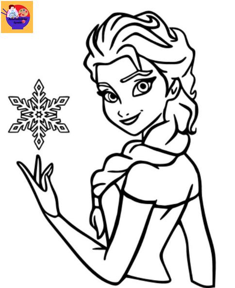 Frozen Ausmalbilder Ausmalbilder Ausmalbilder Kinder Elsa Ausmalbild