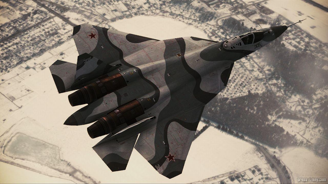 Soviet Fighter in Overflight