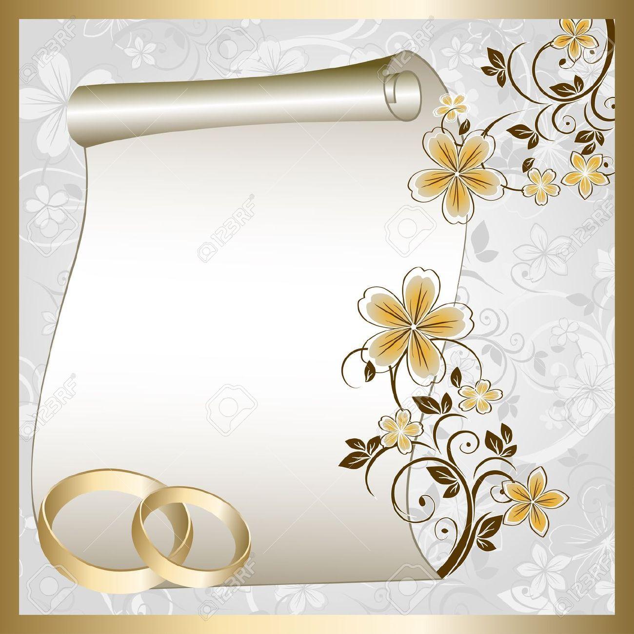 10594257 tarjetas de boda con un patr n floral y lugar - Tarjeta de boda ...
