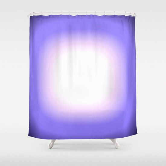 Shower Curtain Periwinkle Blue Focus Shower By 2sweet4wordsdesigns