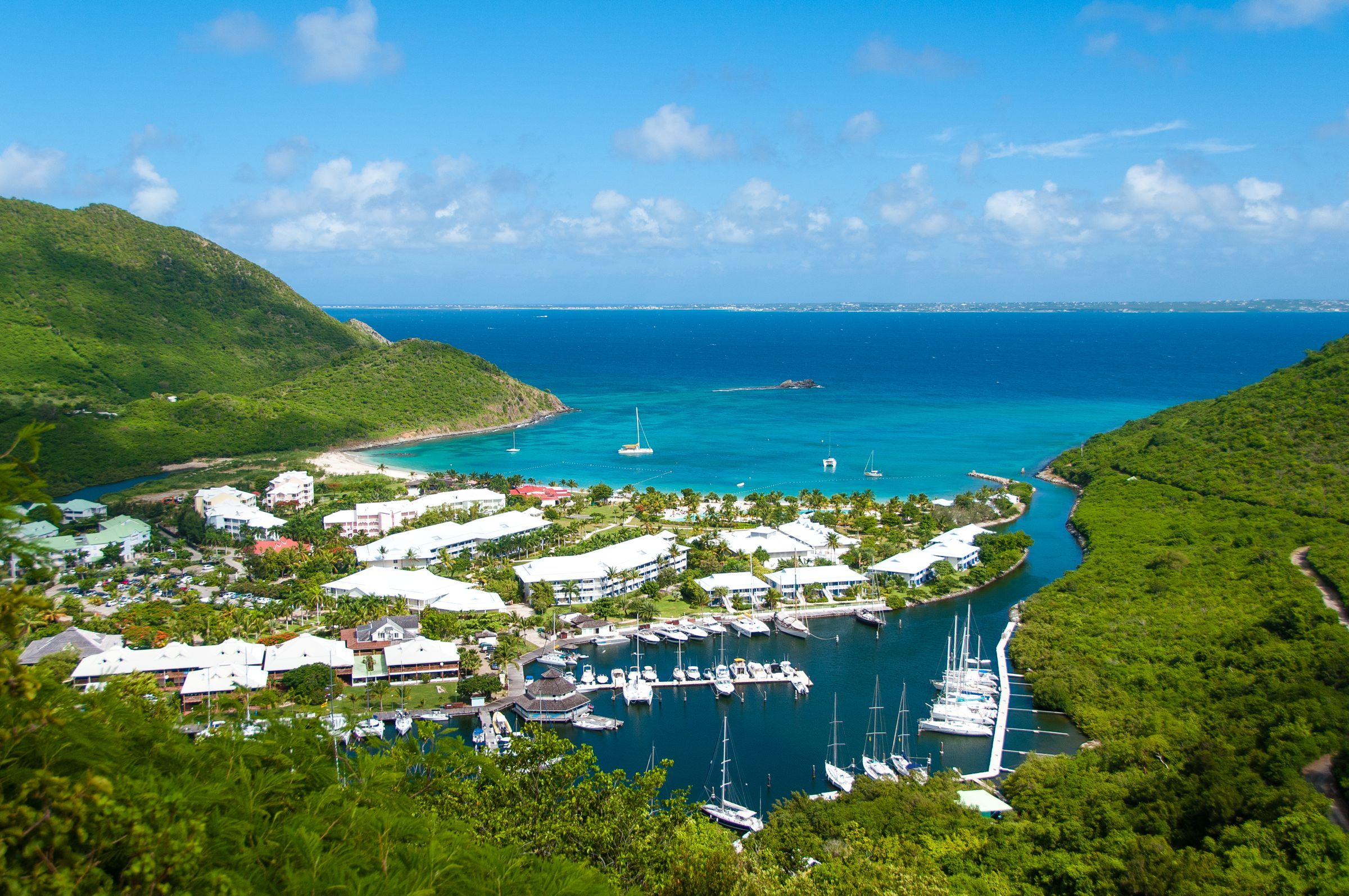 anse marcel st martin photo of the