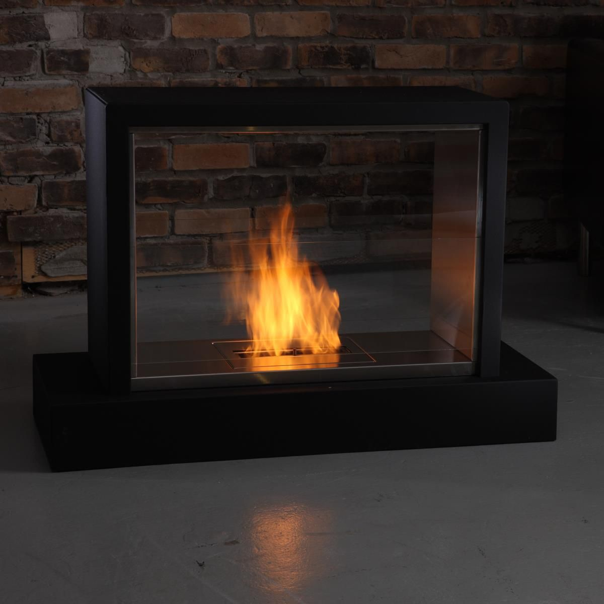 Awesome Indoor Ventless Fireplace Gallery - Interior Design Ideas ...