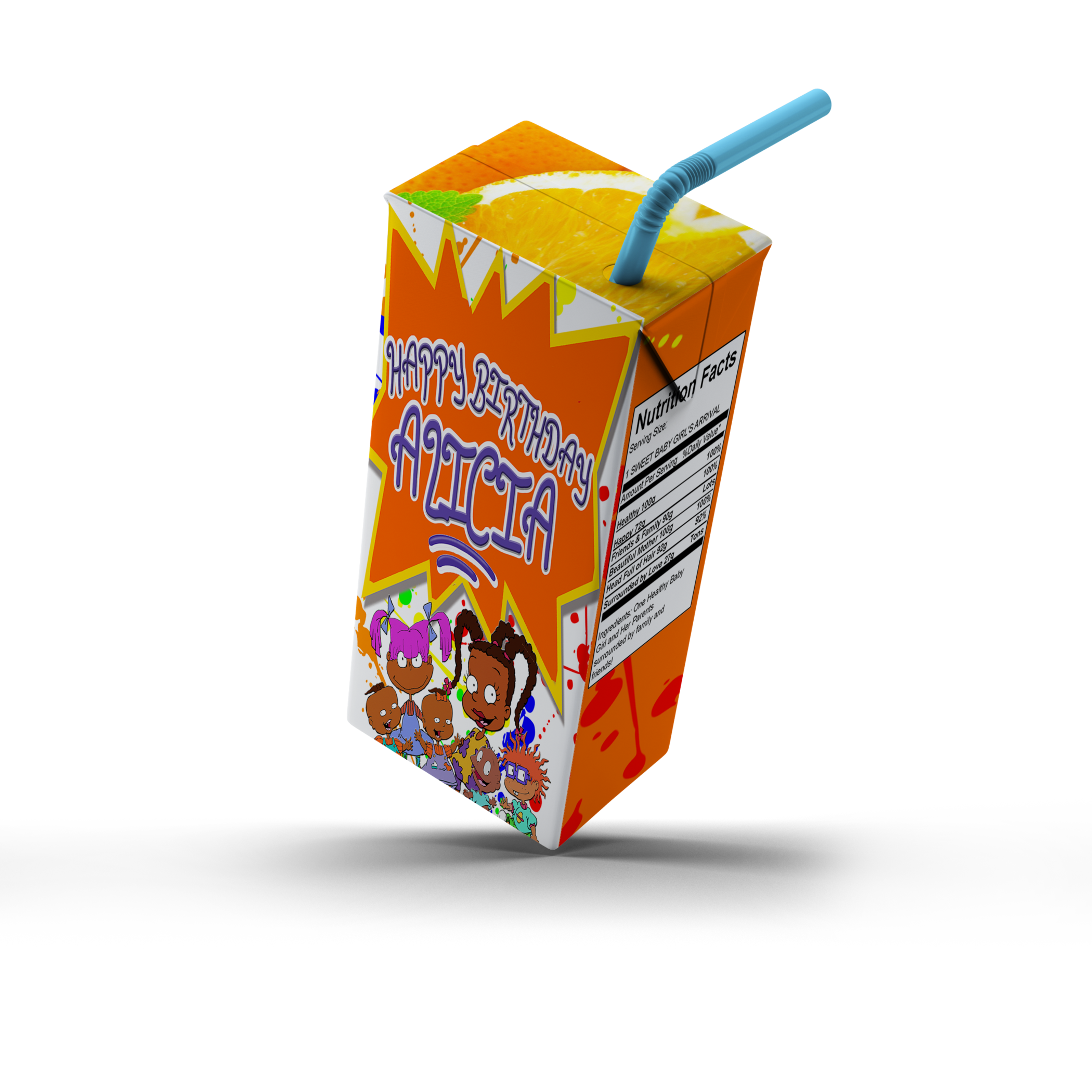 Juice Box Photoshop Template And Mock Up Personalized Box Template Templates Publisher Templates