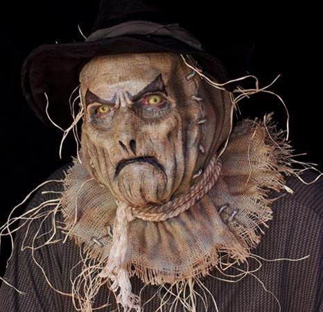 Latex scarecrow mask