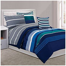 Dan River Twin Jaime 6 Piece Bed In A Bag Comforter Set At Lots