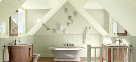 Kitchen and Bath Ideas from Kohler   Home, Green paint ...