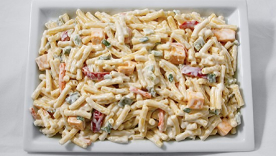 Sandridge Foods Sour Cream Mac Cheddar Salad In 2020 Sour Cream Pasta Cheddar Macaroni Salad Recipe Macaroni Salad