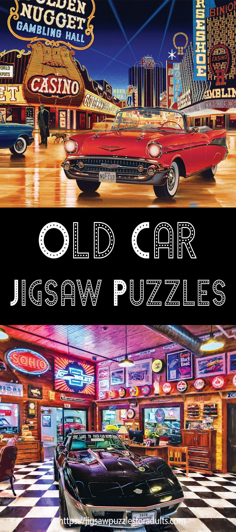 Jigsaw Puzzles Of Old Cars | Jigsaw puzzles | Jigsaw puzzles