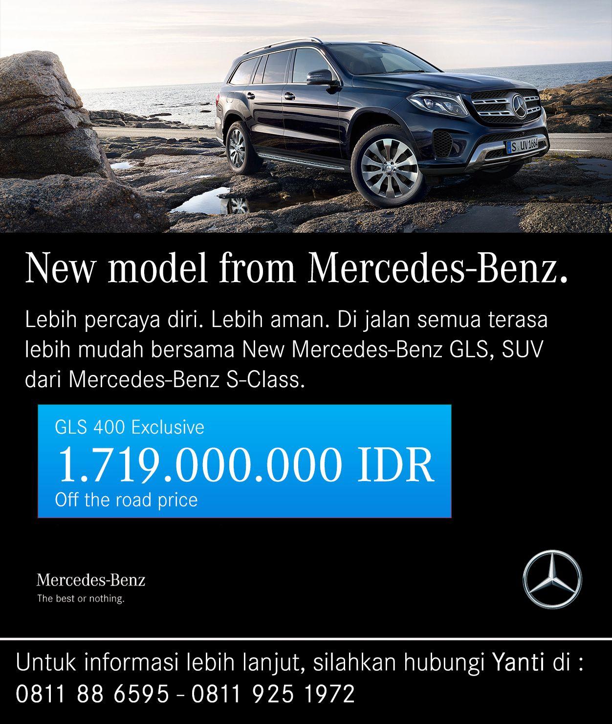 Spesifikasi Singkat Mercedes-Benz GLS 400 Exclusive