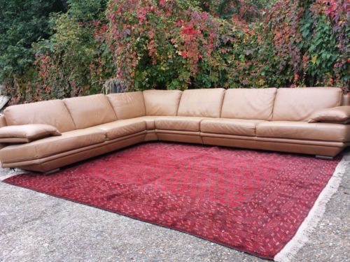 Natuzzi Plaza Large Brown Leather Corner Sofa Suite Rrp 7000 Ebay Leather Corner Sofa Sofa Suites Corner Sofa