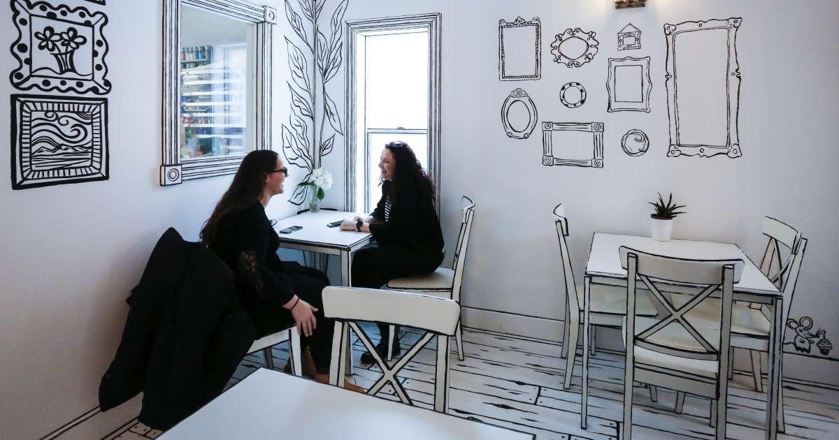 Alberta Bakery Transformed By Colouring Book Design Winnipeg Free Press