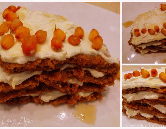 """Торт а-ля """"Медовик"""" диетический   Рецепт   Идеи для блюд ..."""
