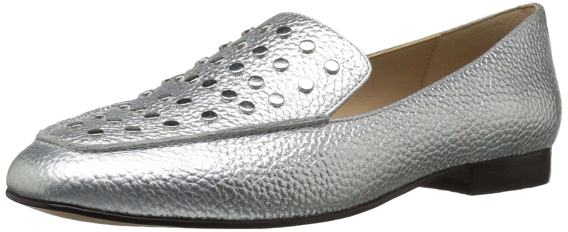 Image result for The Fix Women's Dakoda Silver Head Stud Loafer Flat