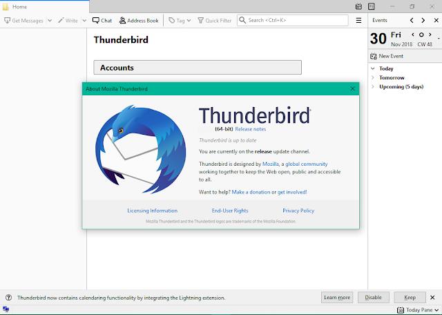 تحميل برنامج Mozilla Thunderbird للمراسلة والدردشة الآمنة تنزيل برنامج تسهيل المراسلة والحماية موزيلا ثندربير Mozilla Thunderbird Writing Messages