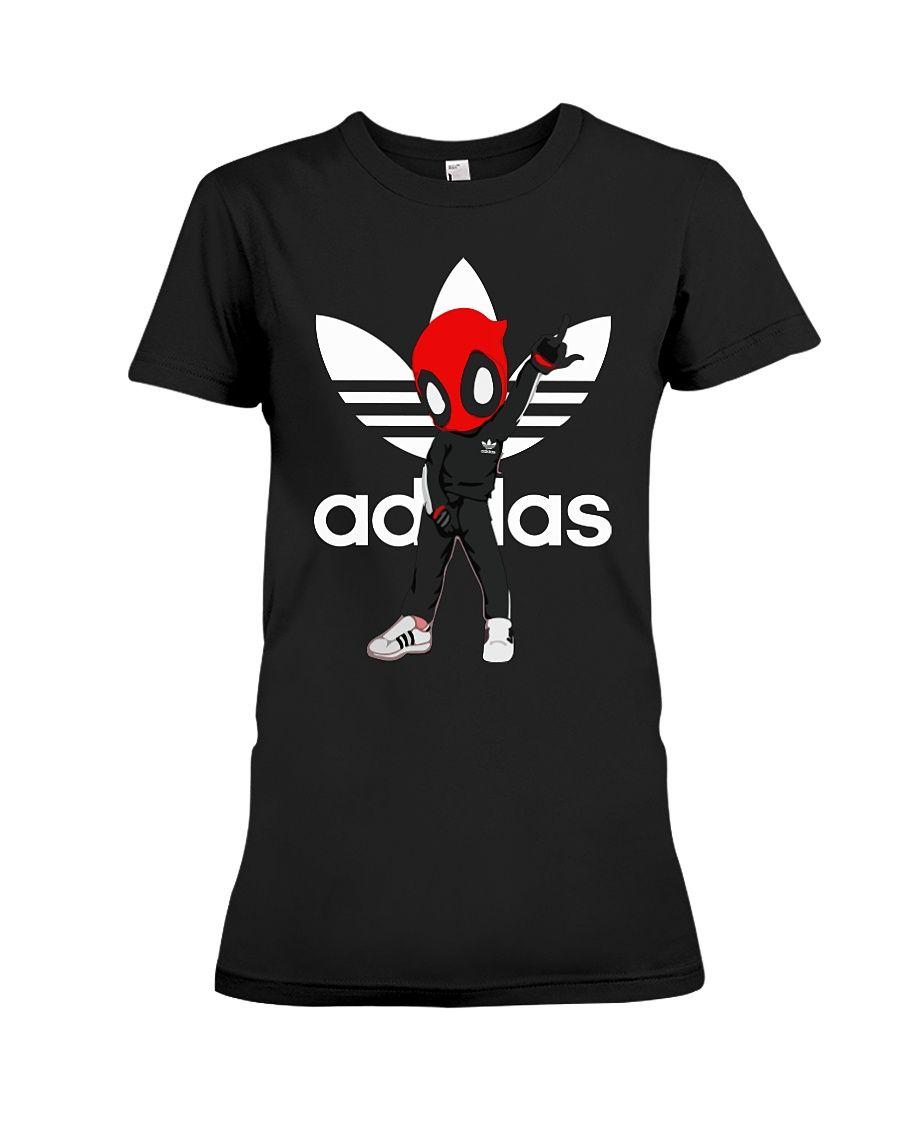 Deadpool adidas shirt, sweatshirt, tank top | Top Deadpool