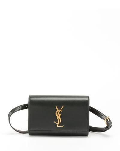 038f71cba Saint Laurent Kate Monogram YSL Leather Belt Bag | Products in 2019 ...