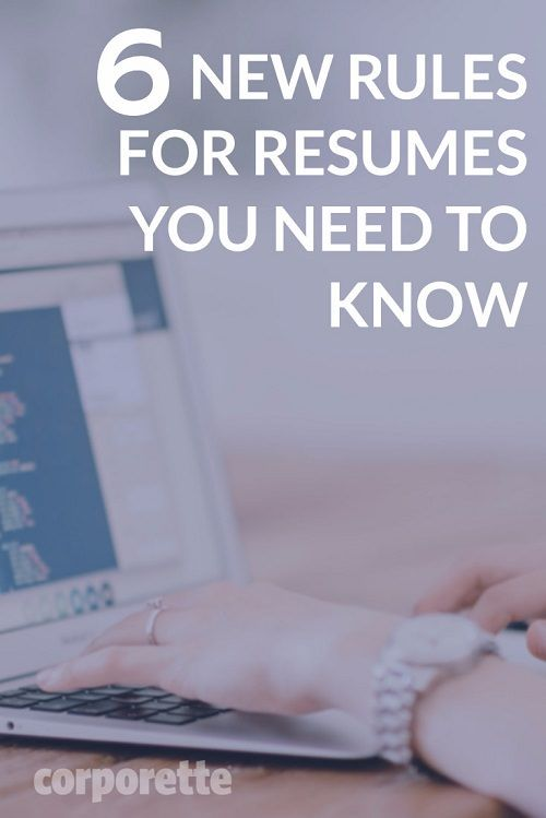 Resume Rules for 2017 That You May Not Know About Resume writing - whats a good resume