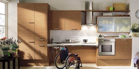 Accessible Kitchen Design Enabling The Disabled With Interior Design  Kitchen Design