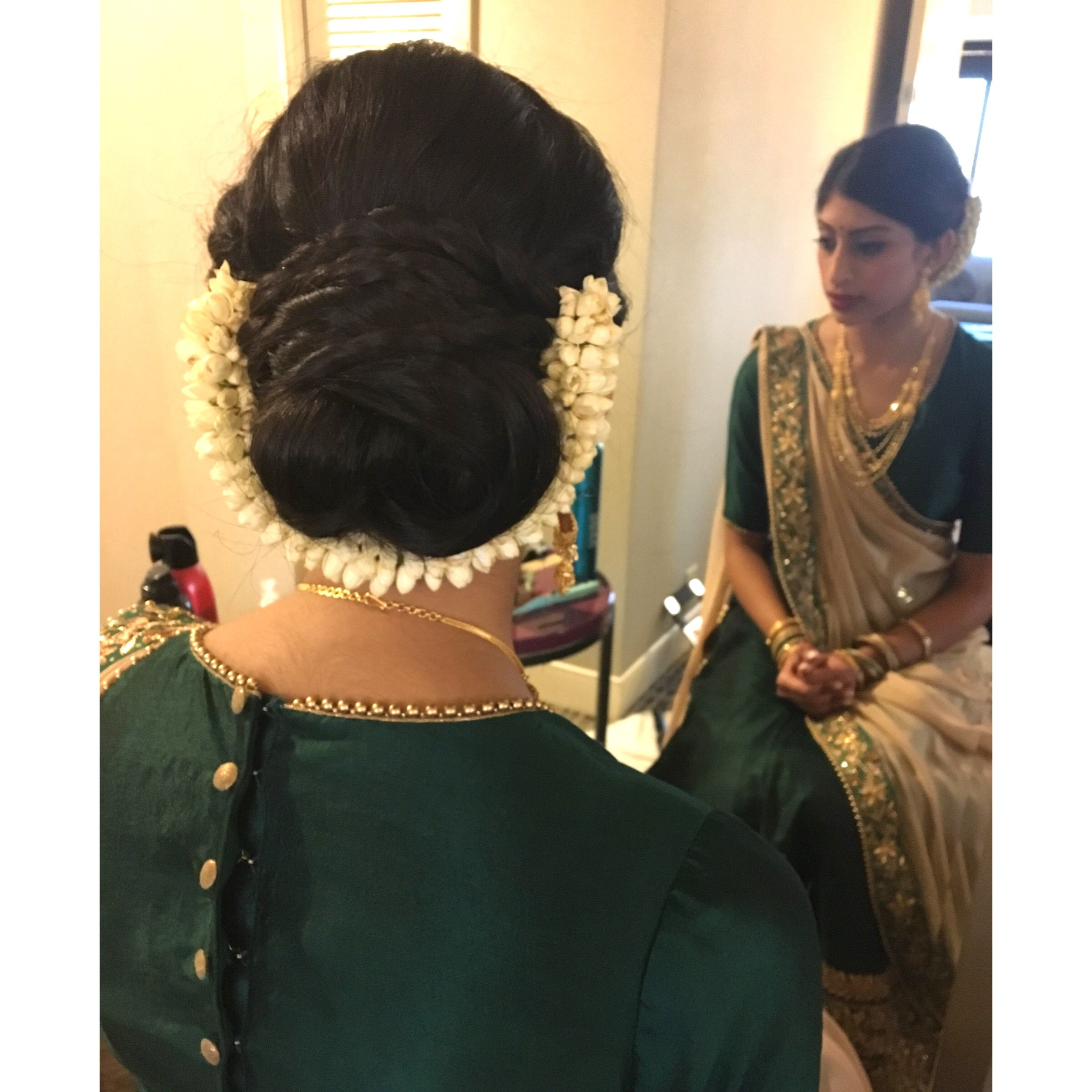 glam part 2. indian wedding sister of the bride with