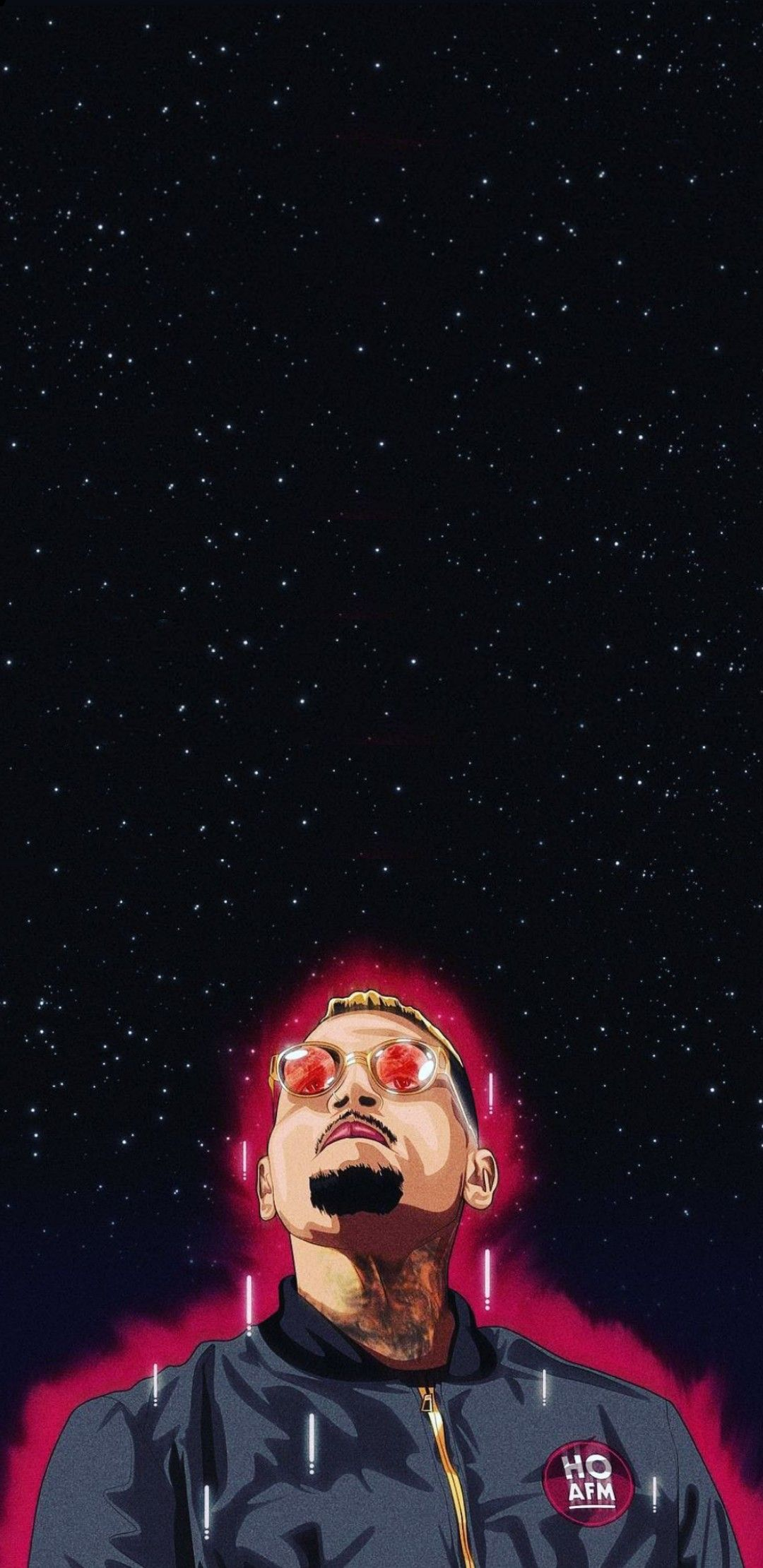 Chris Brown galaxy note 8 wallpaper Chris brown