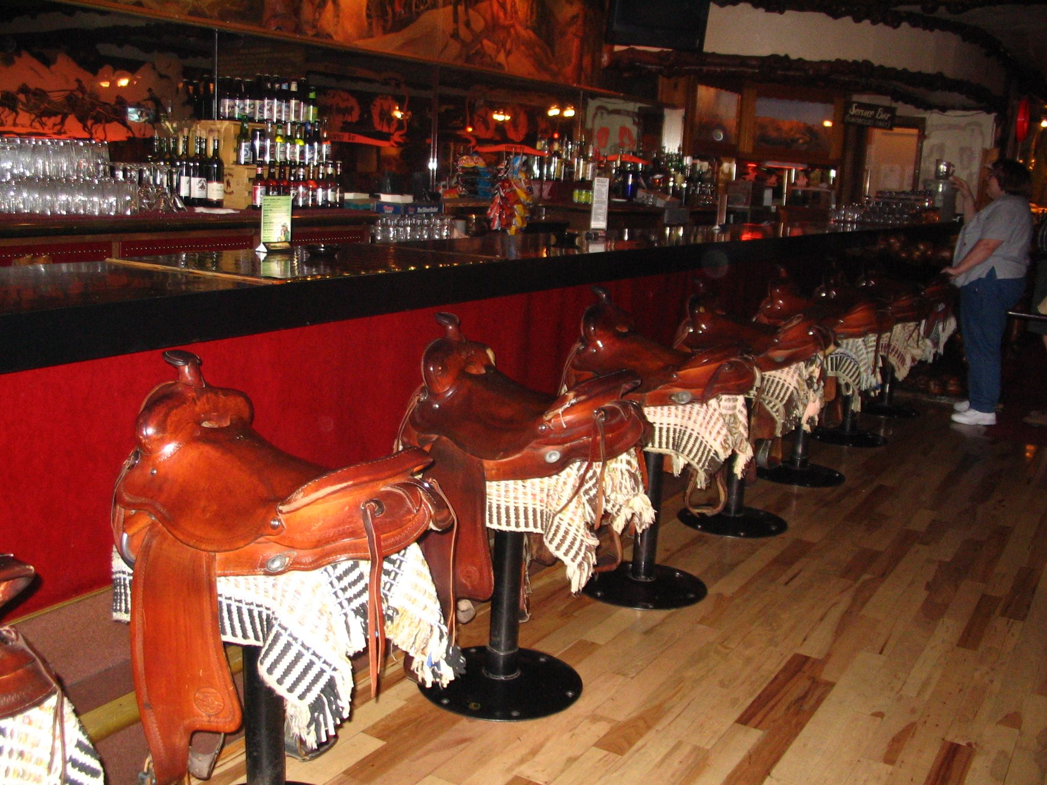 Jackson Hole Wy Million Dollar Cowboy Bar Where I Ve