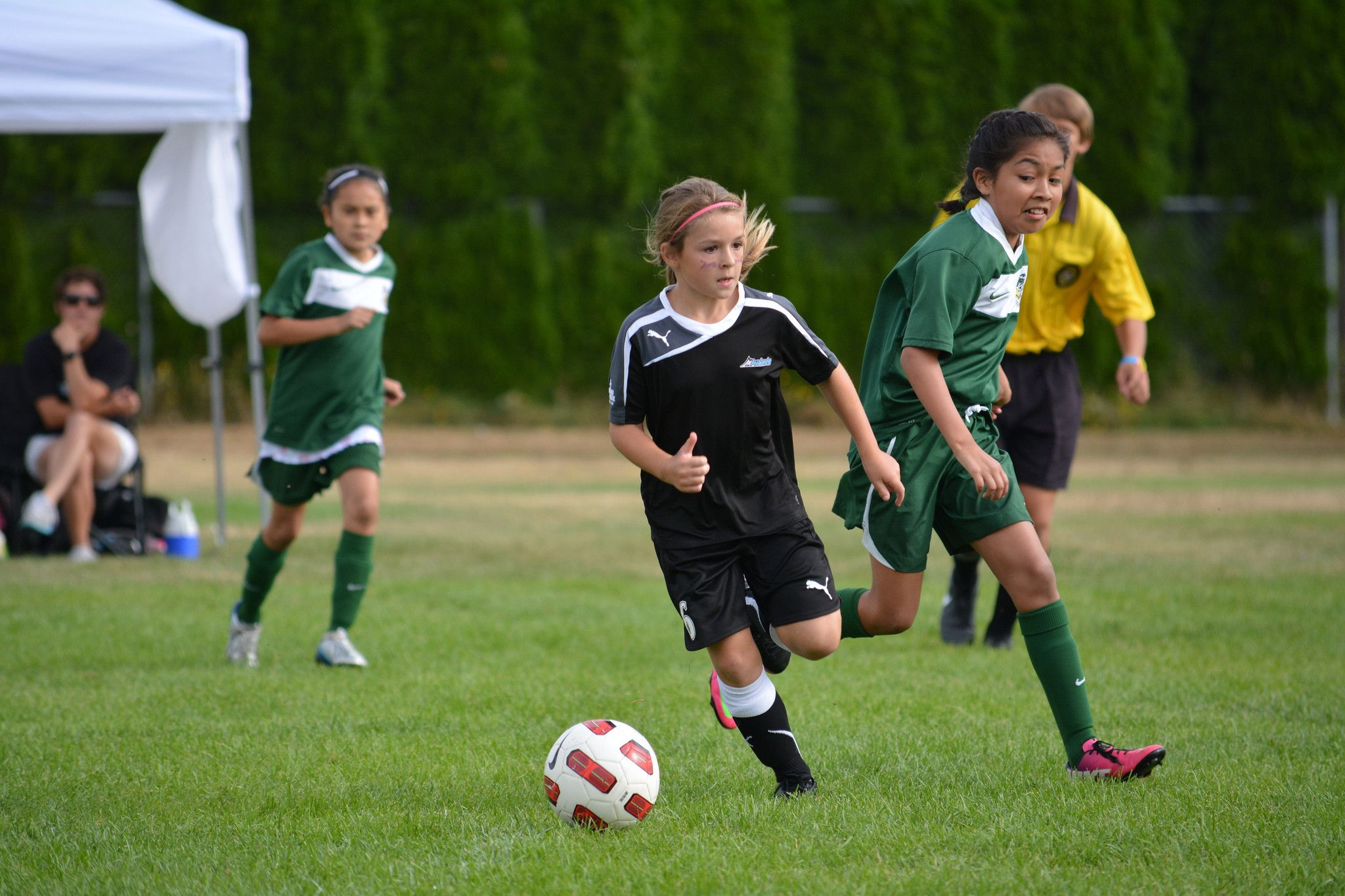 Girl Football Phenom Quits Gridiron To Play Soccer Girls Playing Football Fantasy Football Shirt Girl Playing Soccer