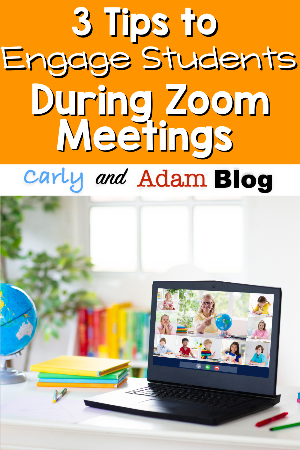 3 Quick Tips To Engage Students During Zoom Meetings Carly And Adam In 2020 Student Engagement Student Student Learning