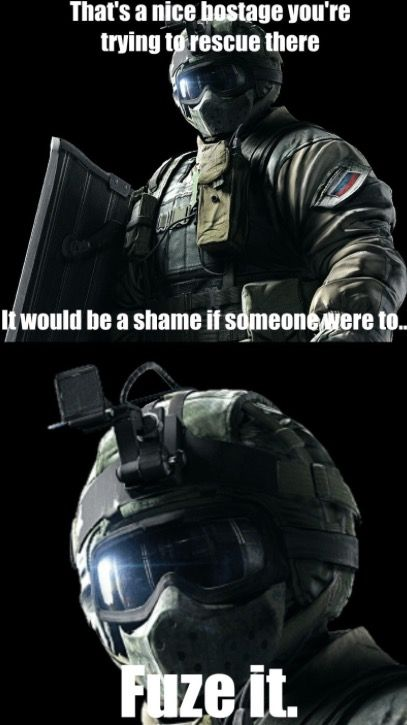 Myianicolee With Images Rainbow Six Siege Memes