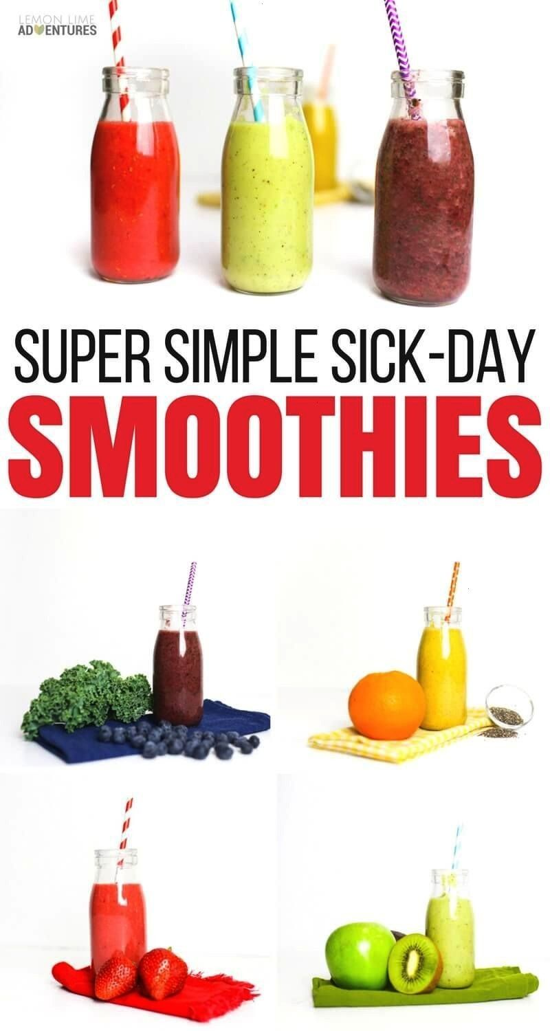 Simple Sick Day Smoothies for Kids that Touch EVERYTHING  Super Simple Sick Day Smoothies for Kids