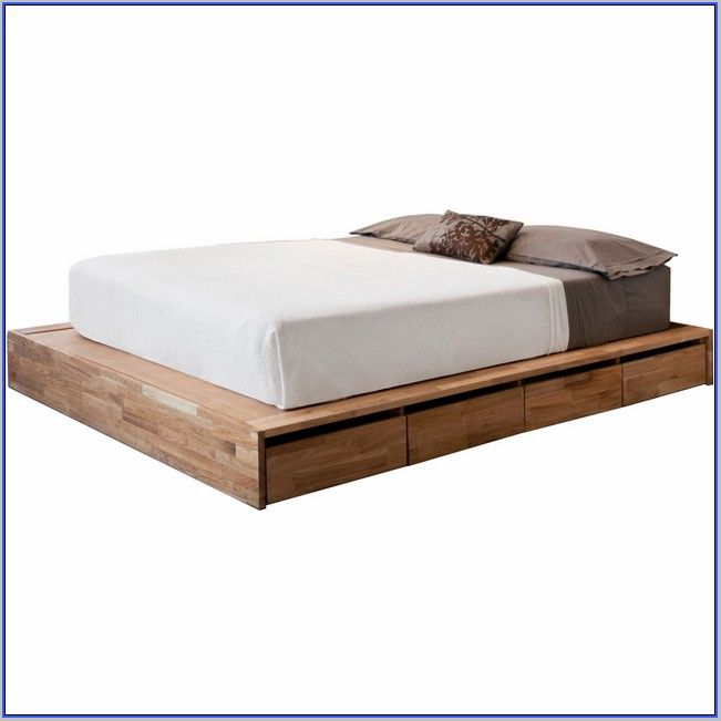 Bed Frame Without Headboard Singapore Platform Bed With Storage
