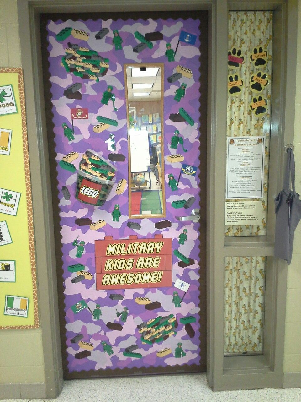 My Kindergarten Classroom Door Decoration For The Month Of The